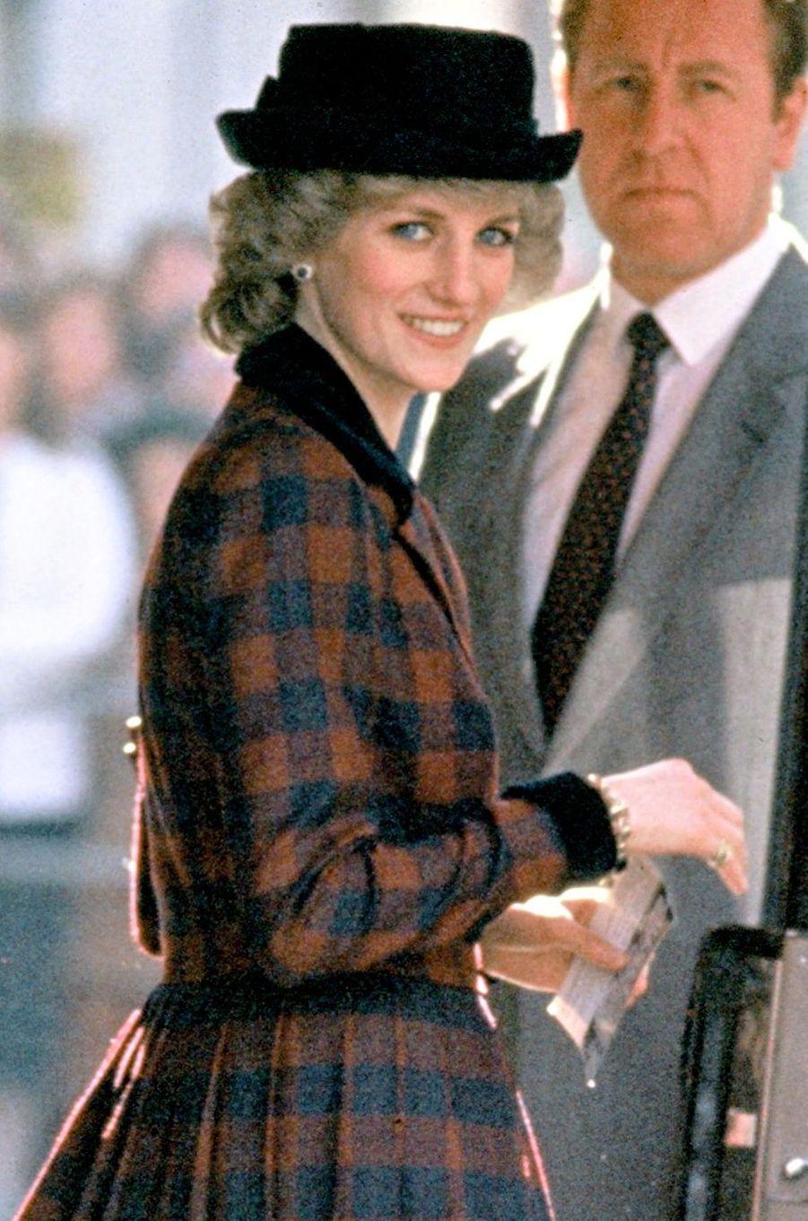 Lady Diana le 9 mars 1985
