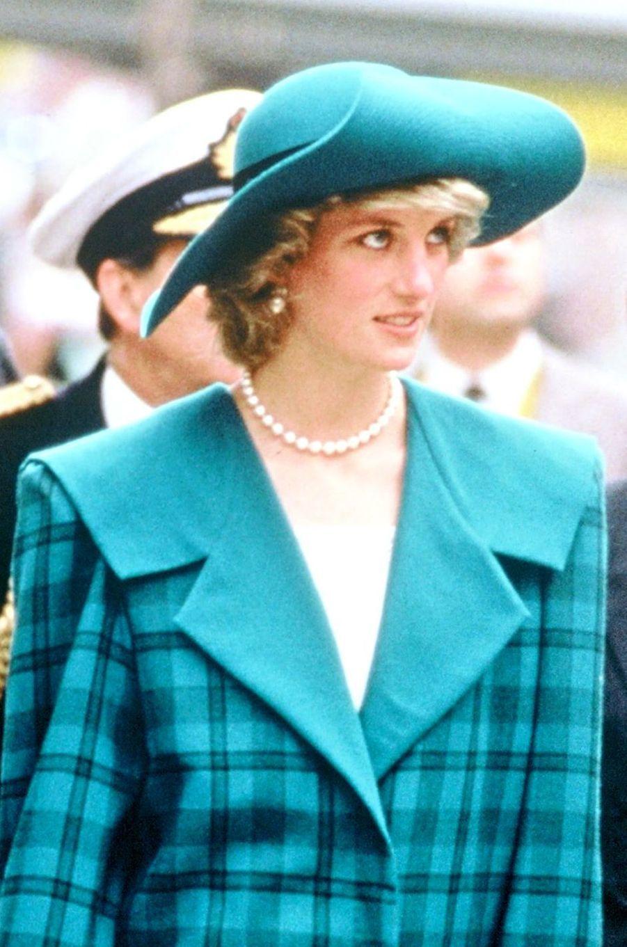 Lady Diana le 10 mai 1985