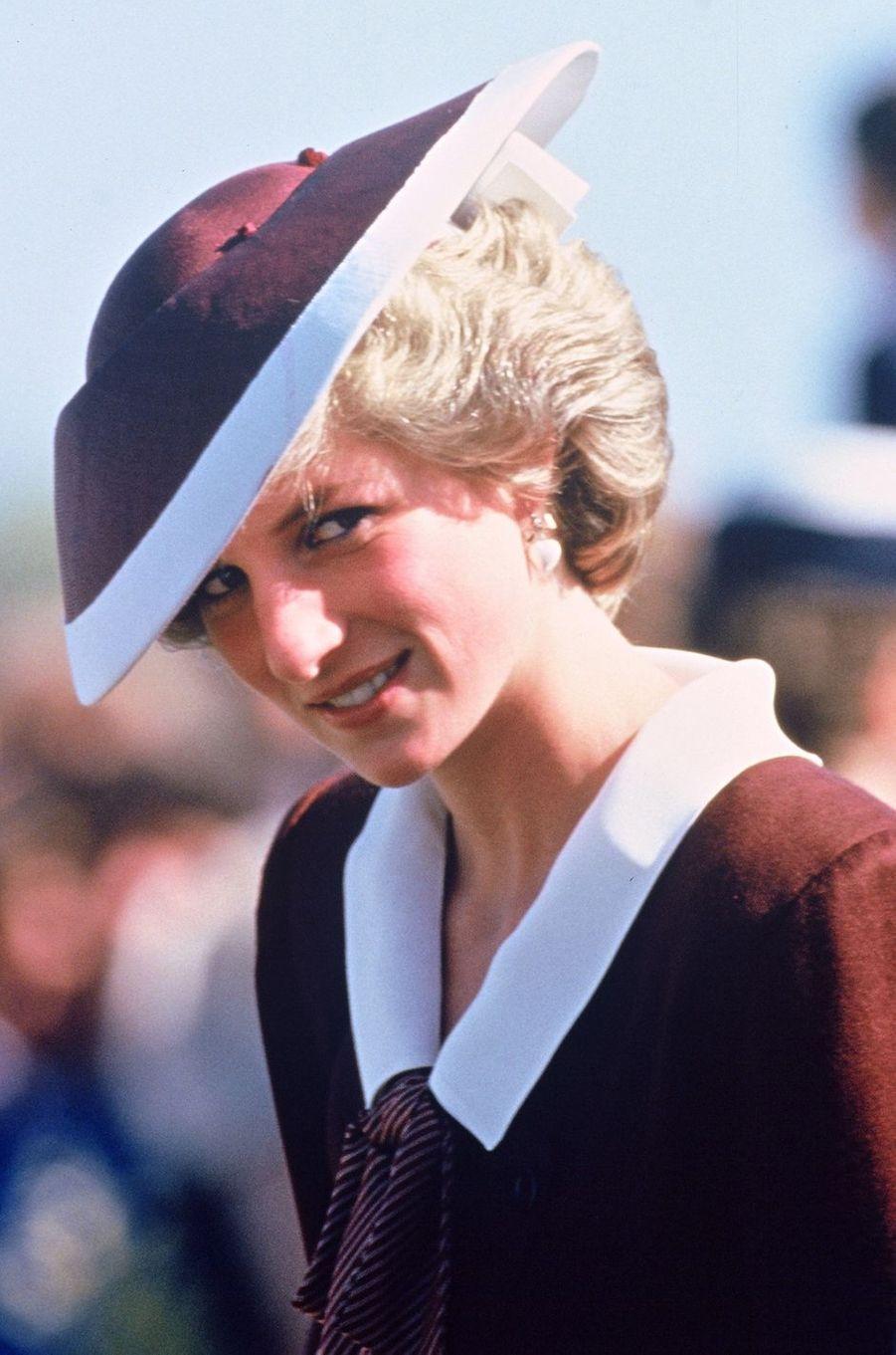 Lady Diana le 11 novembre 1985