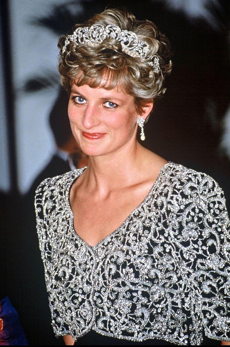 Lady Diana à New Delhi en 1992