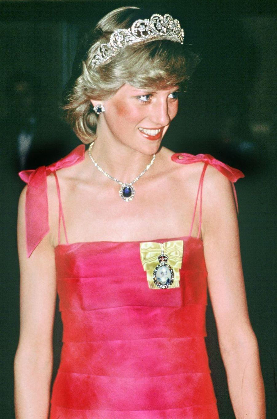 Lady Diana en Australie en 1983