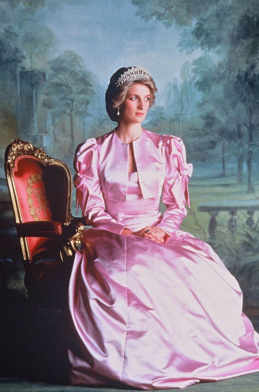 Lady Diana en 1985