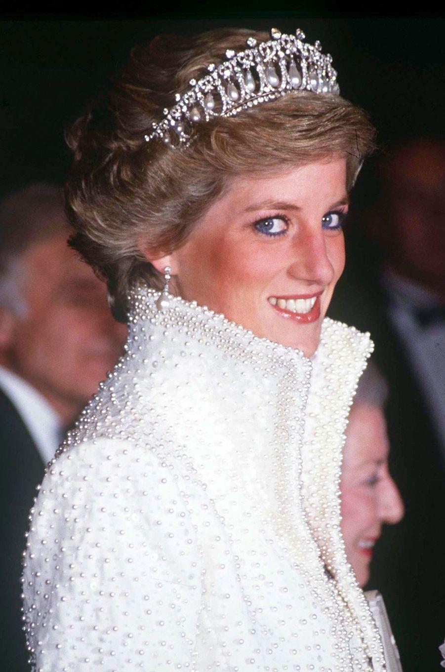 Lady Diana à Hong Kong en 1989