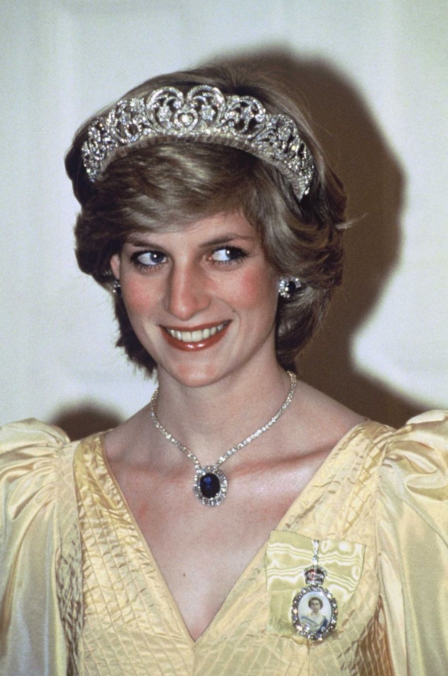 Lady Diana à Canberra en 1983