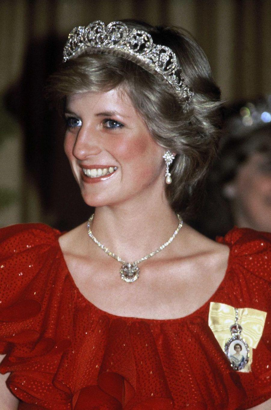 Lady Diana en Tasmanie en 1983