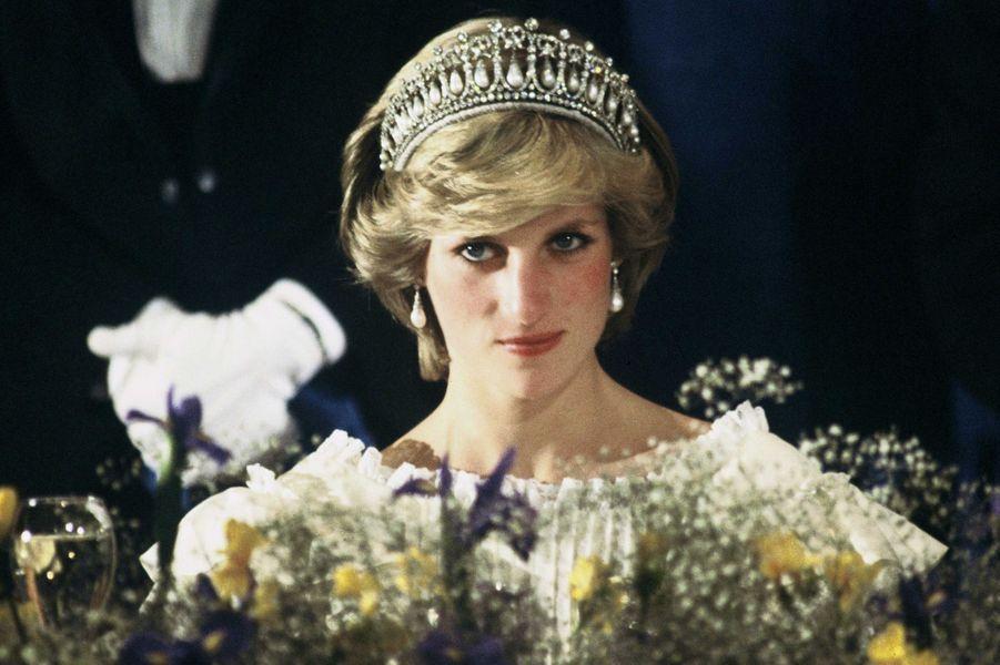 Lady Diana à Auckland en 1983
