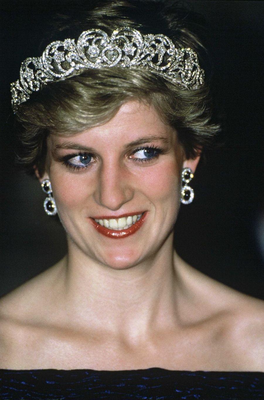 Lady Diana à Lisbonne en 1987