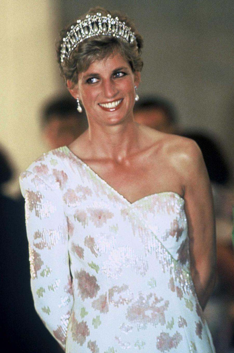 Lady Diana à Brasilia en 1991