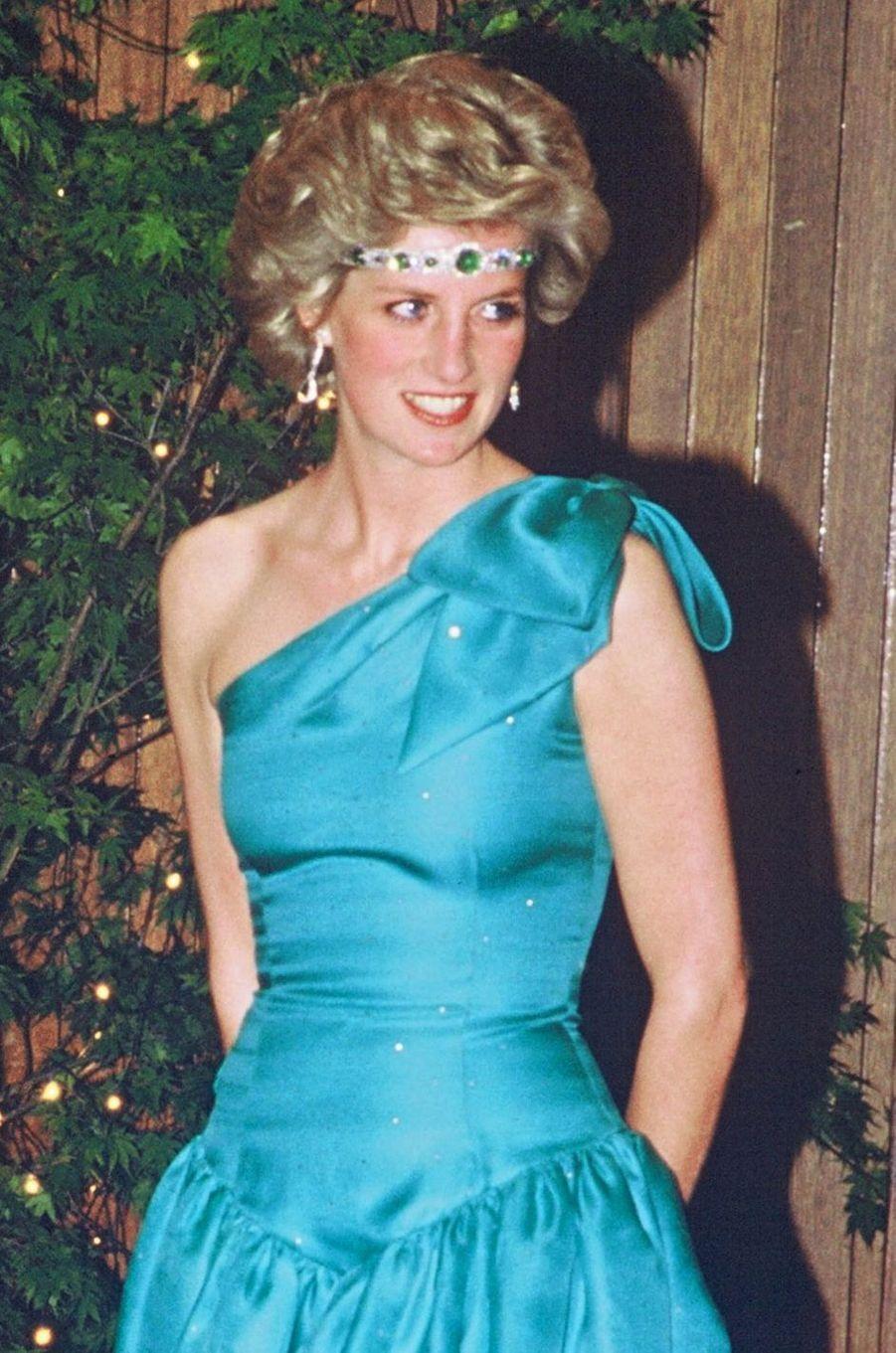 Lady Diana à Melbourne en 1985