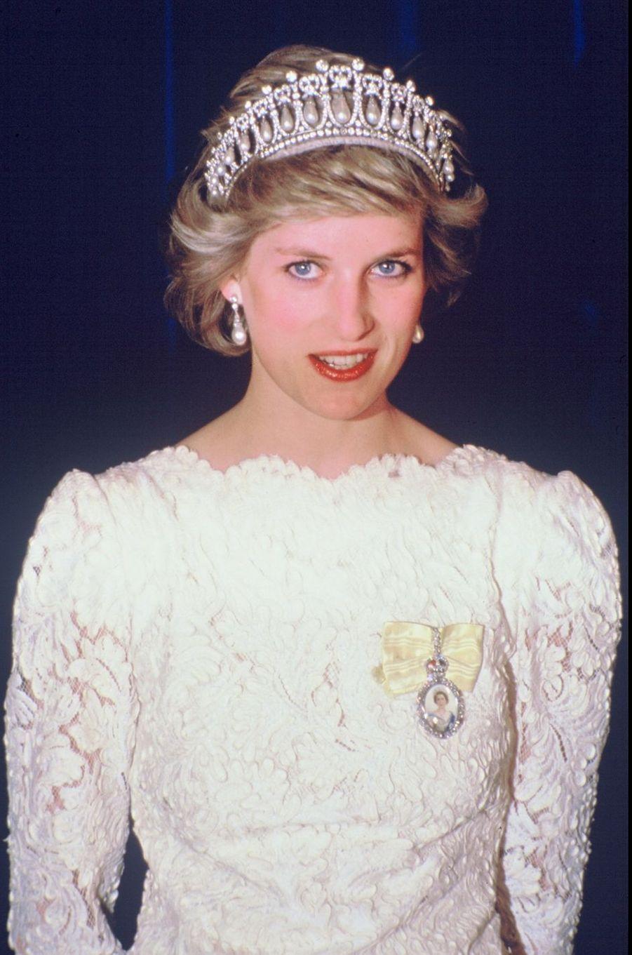 Lady Diana au Canada en 1986
