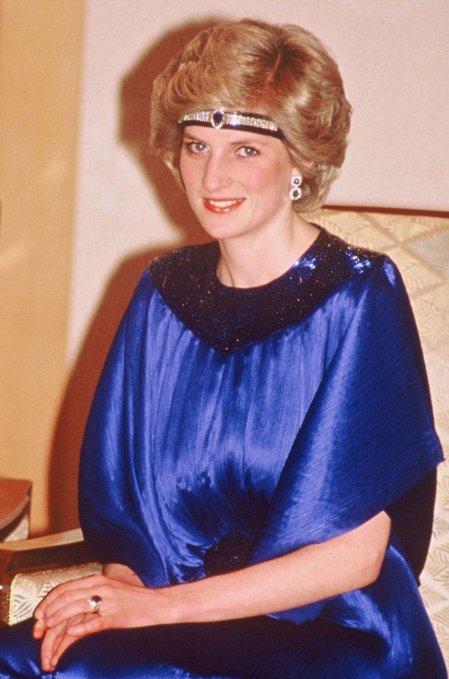 Lady Diana au Japon en 1986
