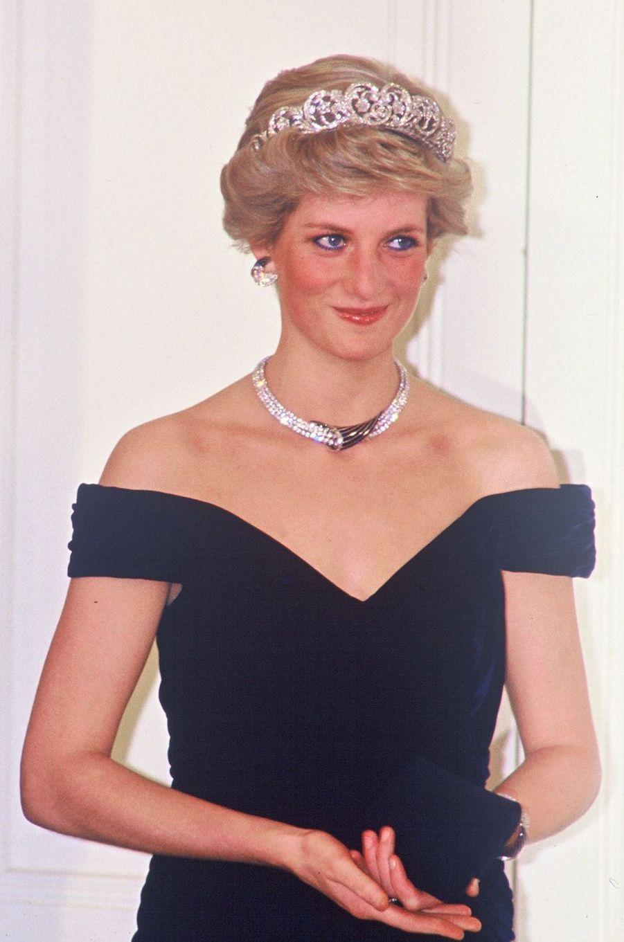 Lady Diana en Allemagne en 1987