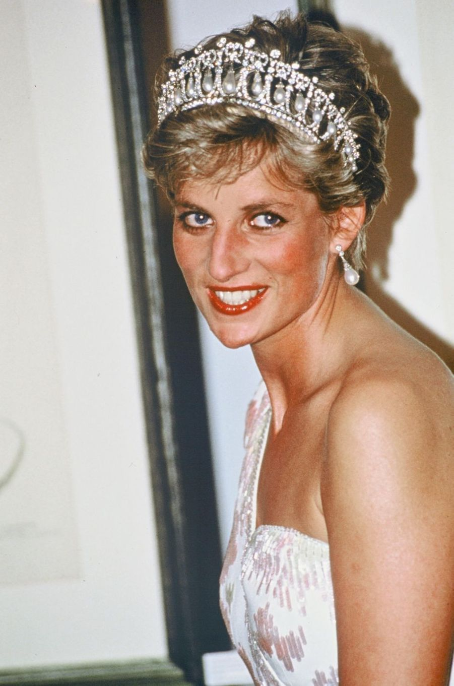 Lady Diana au Japon en 1991