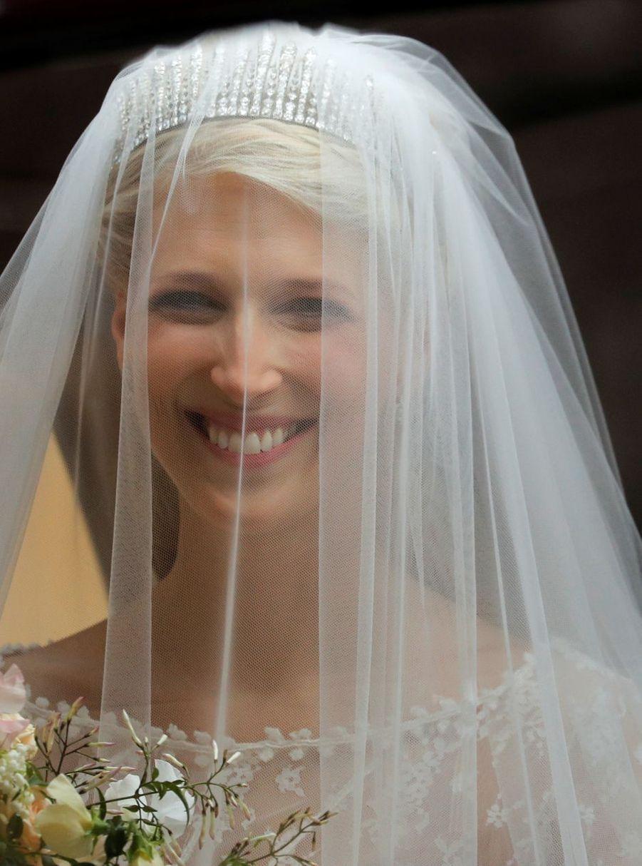 Lady Gabriella Windsor le jour de son mariage à Windsor, le 18 mai 2019