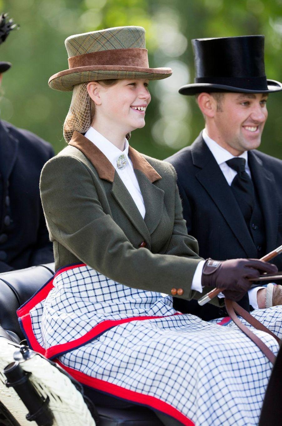 Lady Louise Windsor au Windsor Horse Show, le 14 mai 2017