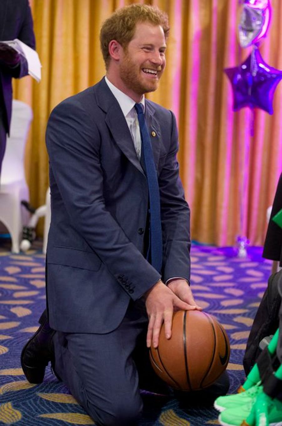 Le prince Harry aux Wellchild Awards à Londres, le 5 octobre 2015