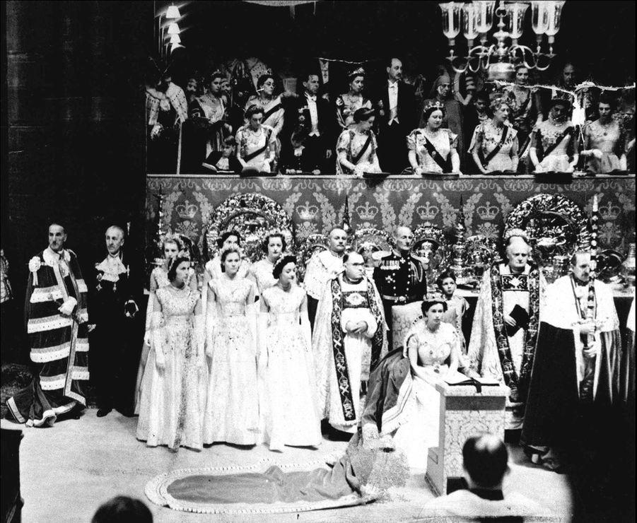 Couronnement de la reine Elizabeth II, le 2 juin 1953