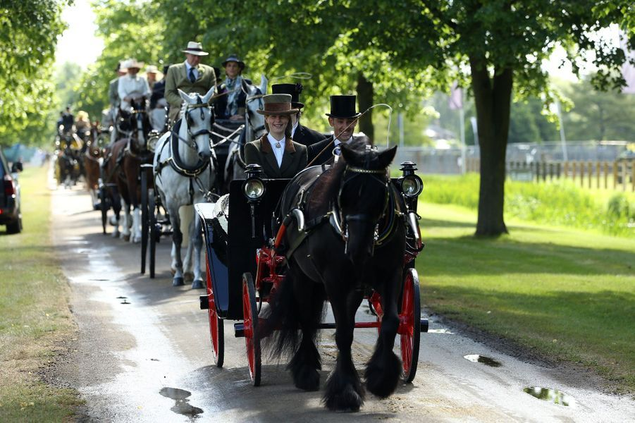 Lady Louise Windsor à Windsor, le 14 mai 2017