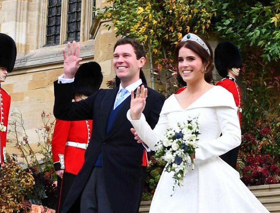 Le Mariage De La Princesse Eugénie D'York En Photos ( 12
