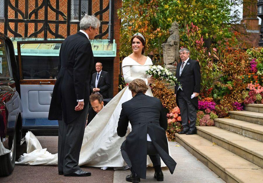 Le Mariage De La Princesse Eugénie D'York En Photos ( 17