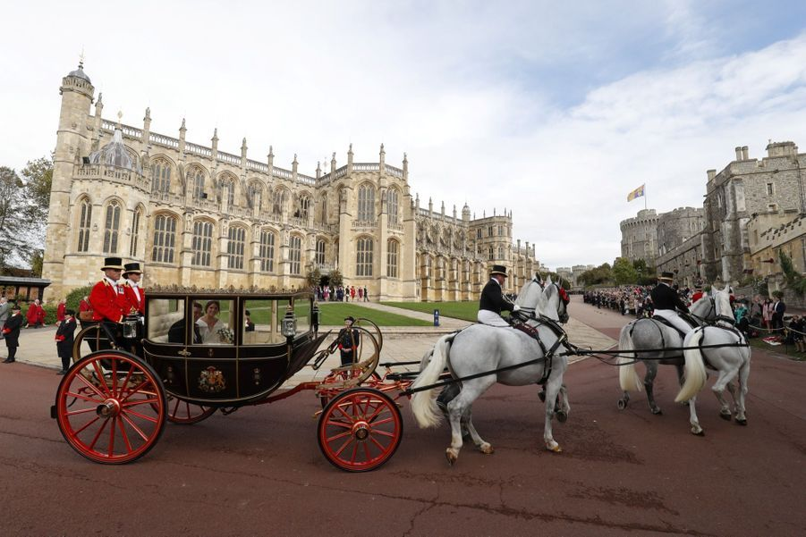 Le Mariage De La Princesse Eugénie D'York En Photos ( 31