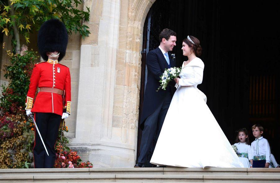 Le Mariage De La Princesse Eugénie D'York En Photos ( 3