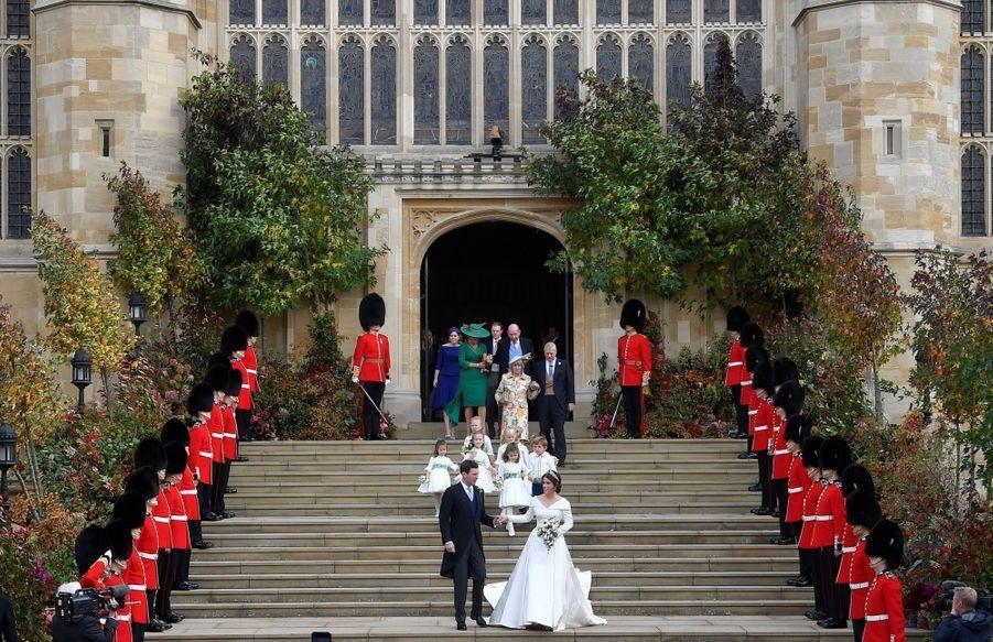 Le Mariage De La Princesse Eugénie D'York En Photos ( 32