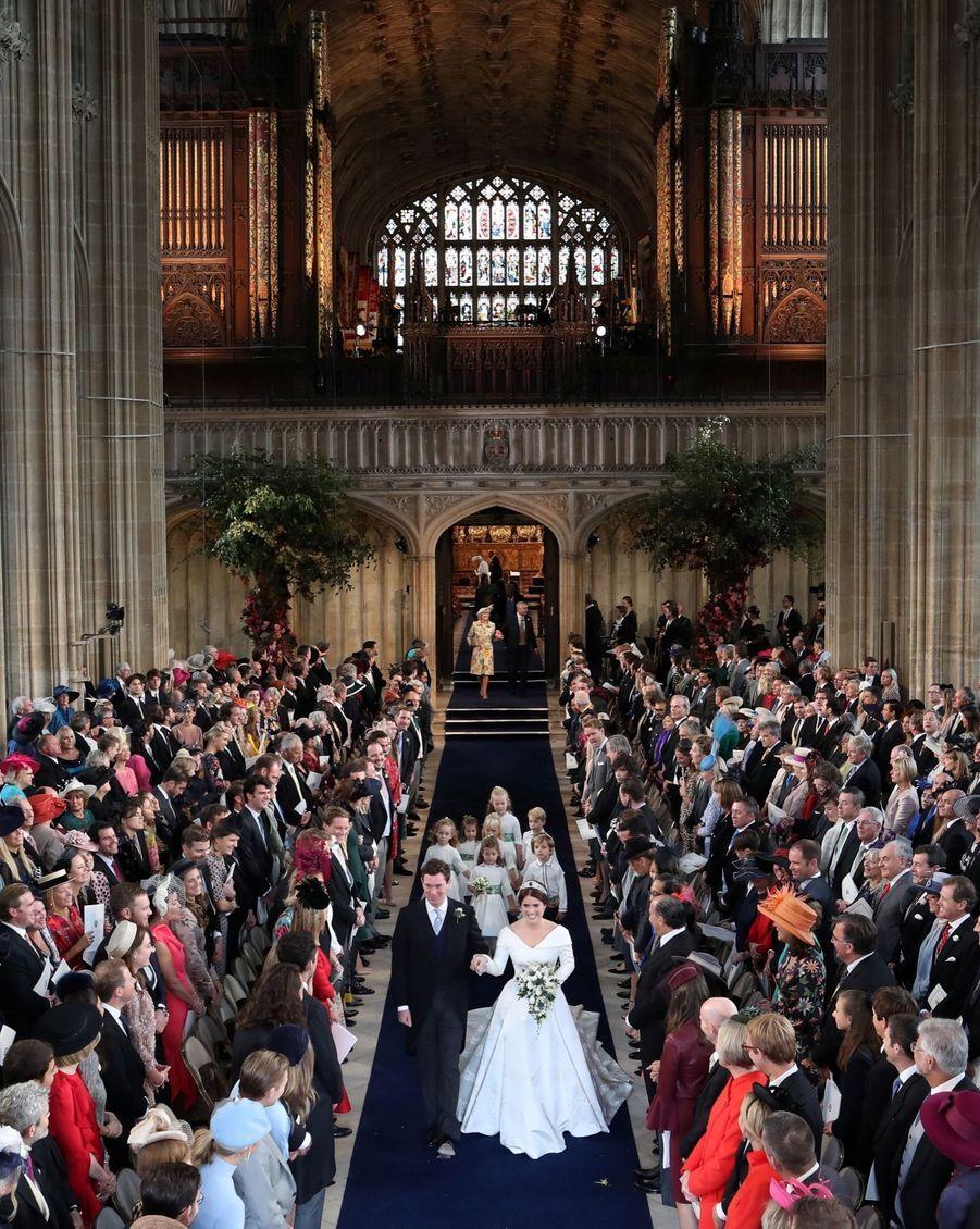 Le Mariage De La Princesse Eugénie D'York En Photos ( 37