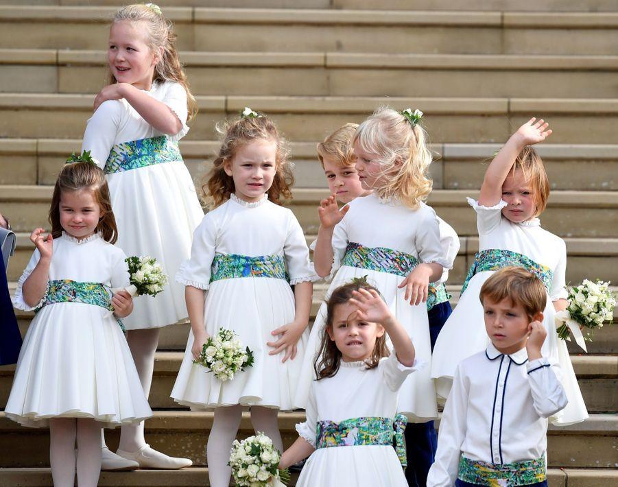 Le Mariage De La Princesse Eugénie D'York En Photos ( 38