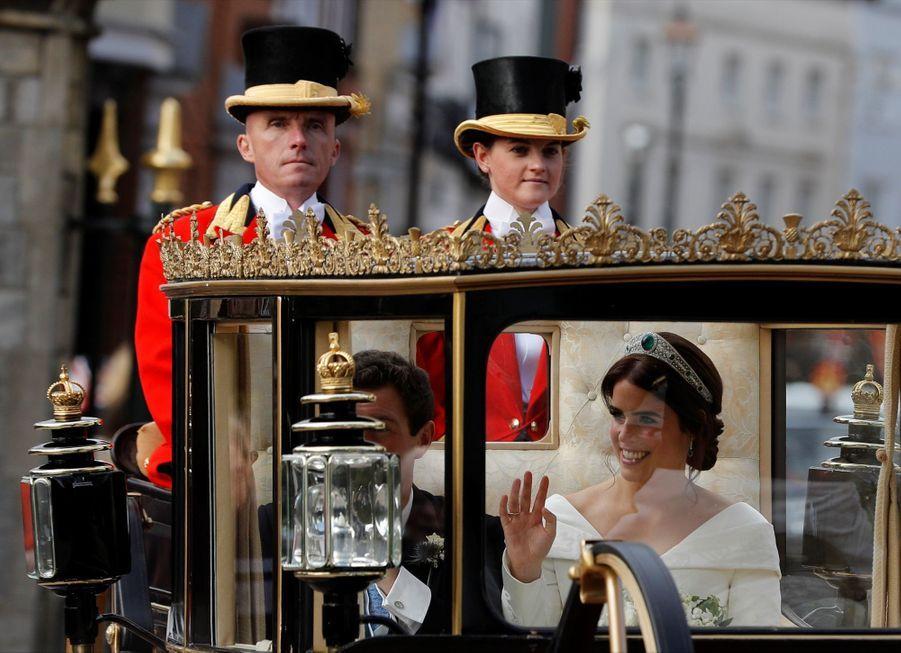 Le Mariage De La Princesse Eugénie D'York En Photos ( 42