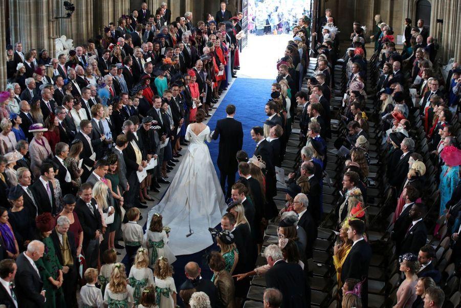 Le Mariage De La Princesse Eugénie D'York En Photos ( 44