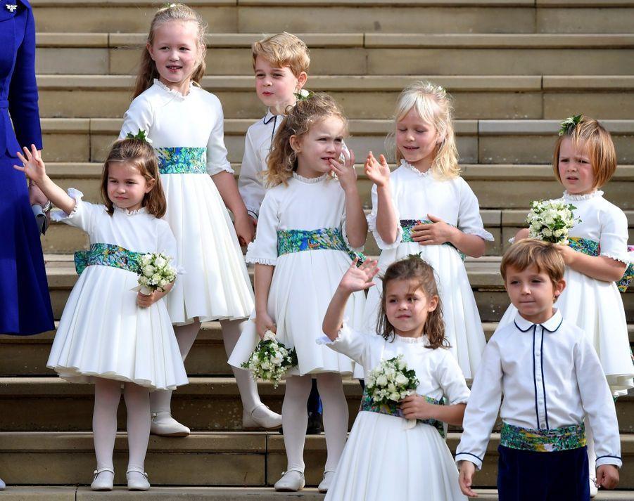 Le Mariage De La Princesse Eugénie D'York En Photos ( 45