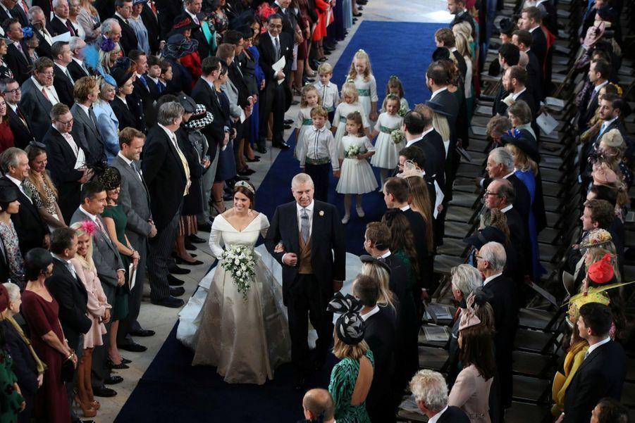 Le Mariage De La Princesse Eugénie D'York En Photos 6