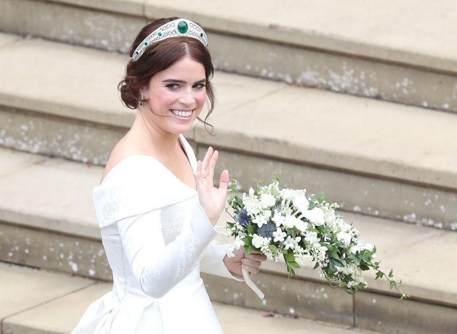 Le Mariage De La Princesse Eugénie D'York En Photos ( 6