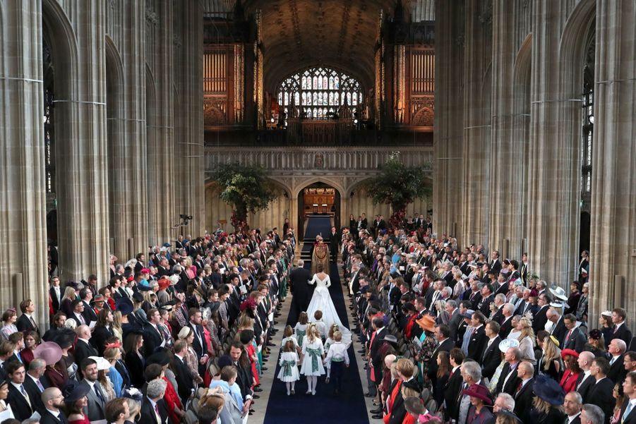 Le Mariage De La Princesse Eugénie D'York En Photos 8