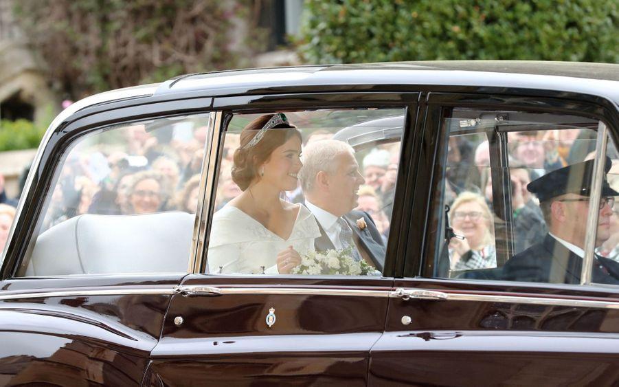Le Mariage De La Princesse Eugénie D'York En Photos ( 8