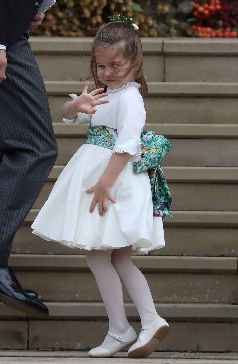 Le Mariage De La Princesse Eugénie D'York En Photos ( 9