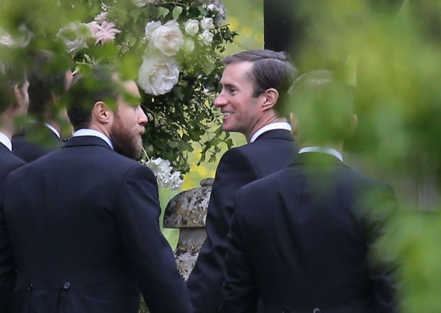 Le futur mari de Pippa Middleton, James Matthews, samedi 20 mai