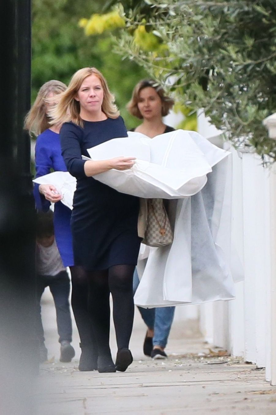 La robe de mariée de Pippa Middleton, livrée chez elle cette semaine