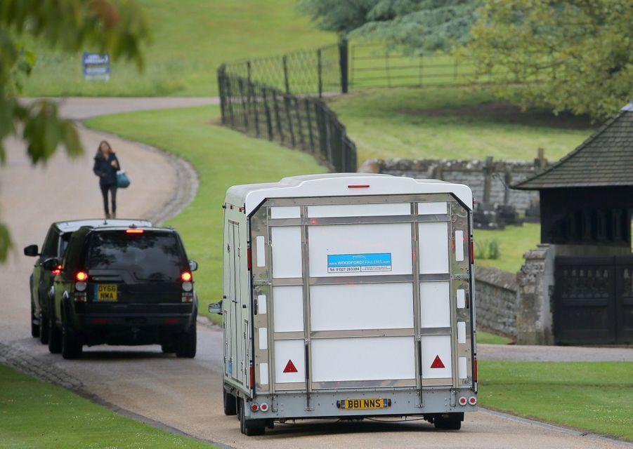 Pippa Middleton, dernière visite de l'église, le vendredi 19 mai