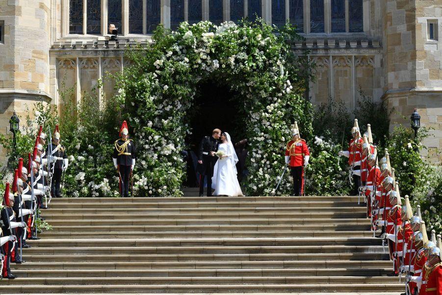 Le Mariage De Meghan Et Harry En Photos ( 13