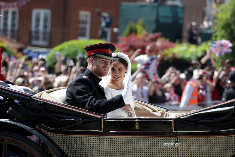 Le Mariage De Meghan Et Harry En Photos ( 24