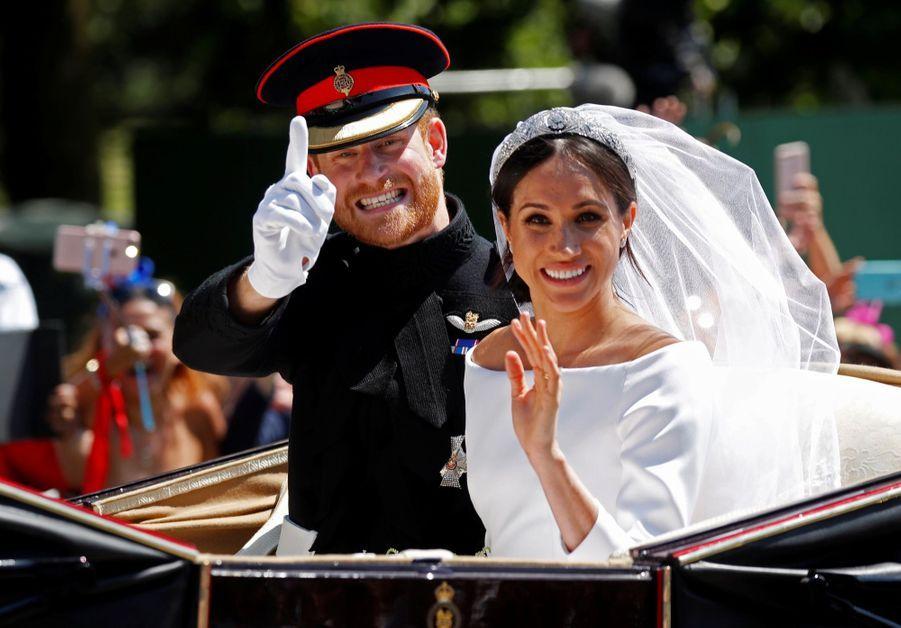 Le Mariage De Meghan Et Harry En Photos ( 5