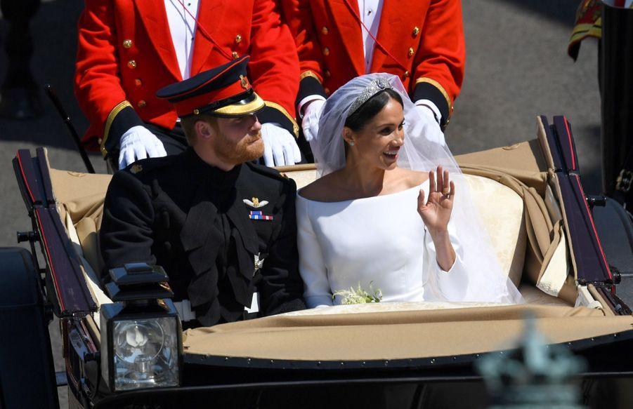Le Mariage De Meghan Et Harry En Photos ( 6