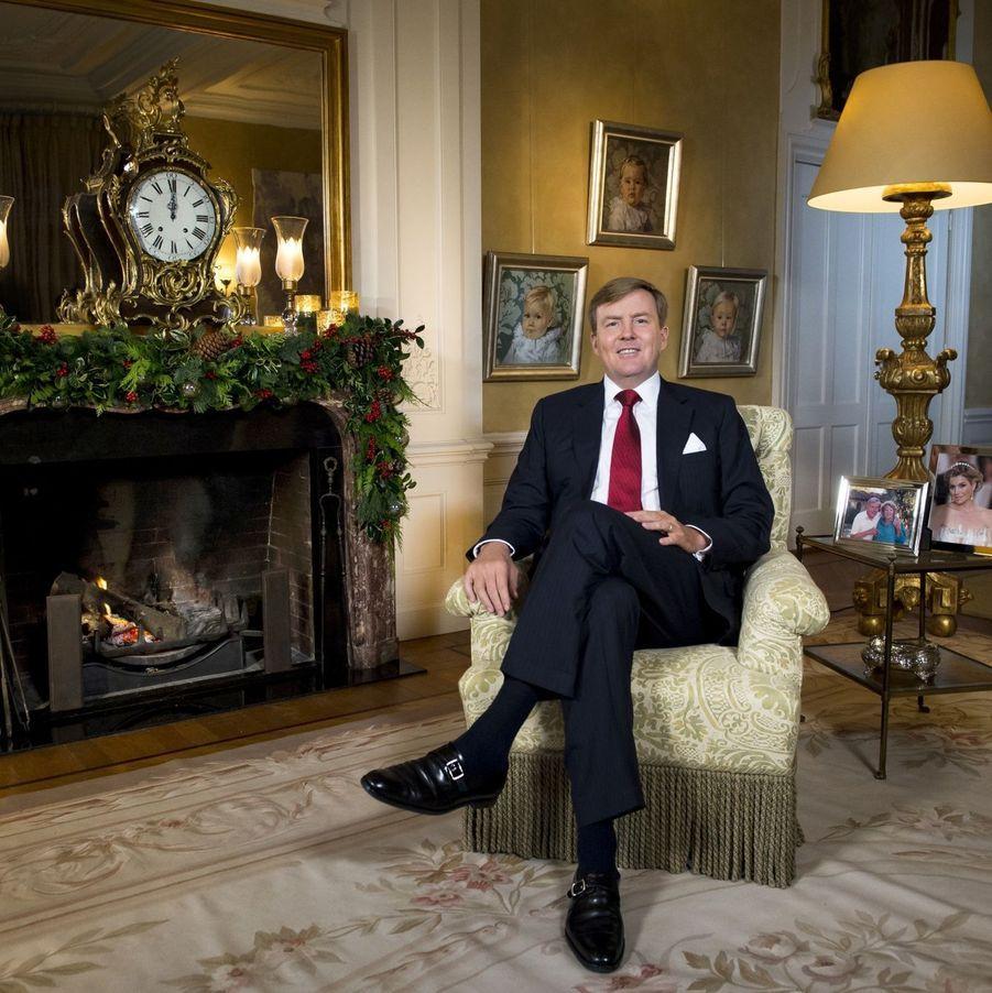 Le roil Willem-Alexander des Pays-Bas