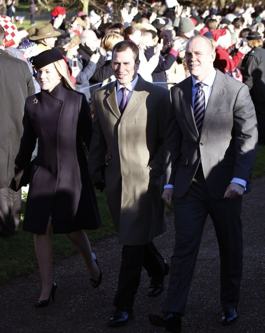 MikeTindall, Peter et Autumn Philips