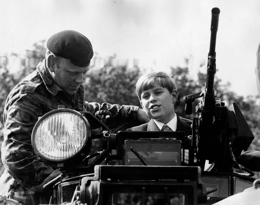 Le prince Andrew, le 10 août 1971