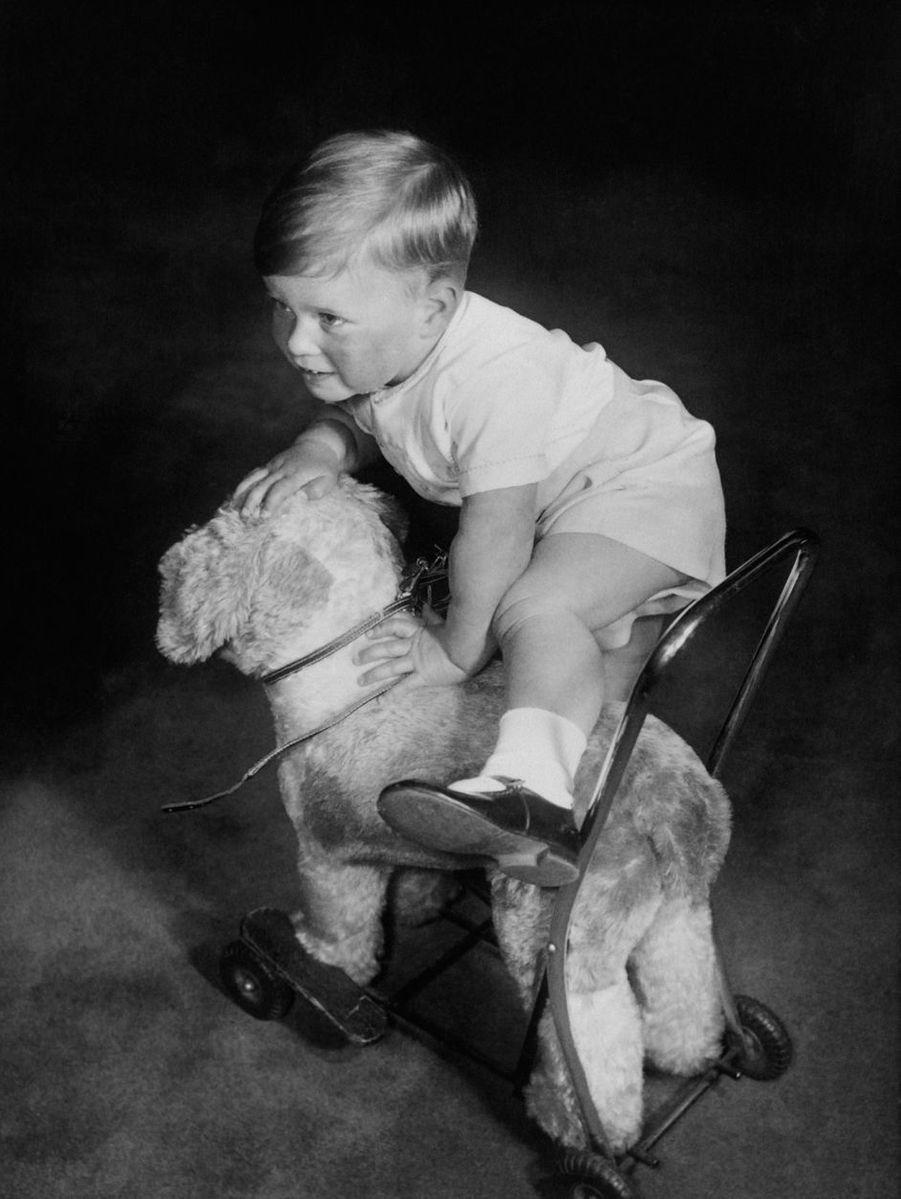 Le prince Andrew, le 11 septembre 1962