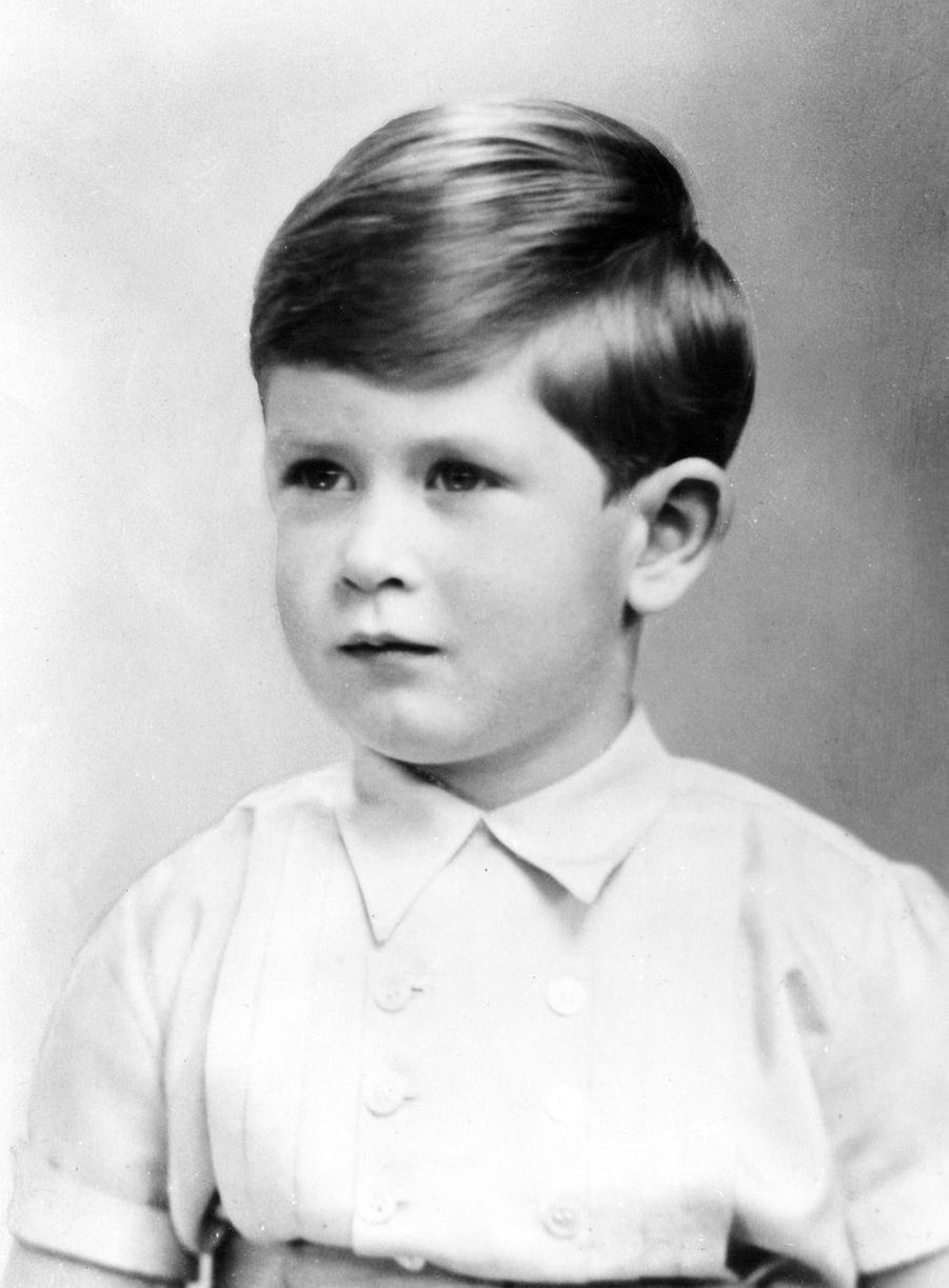 Le prince Charles, vers 1953