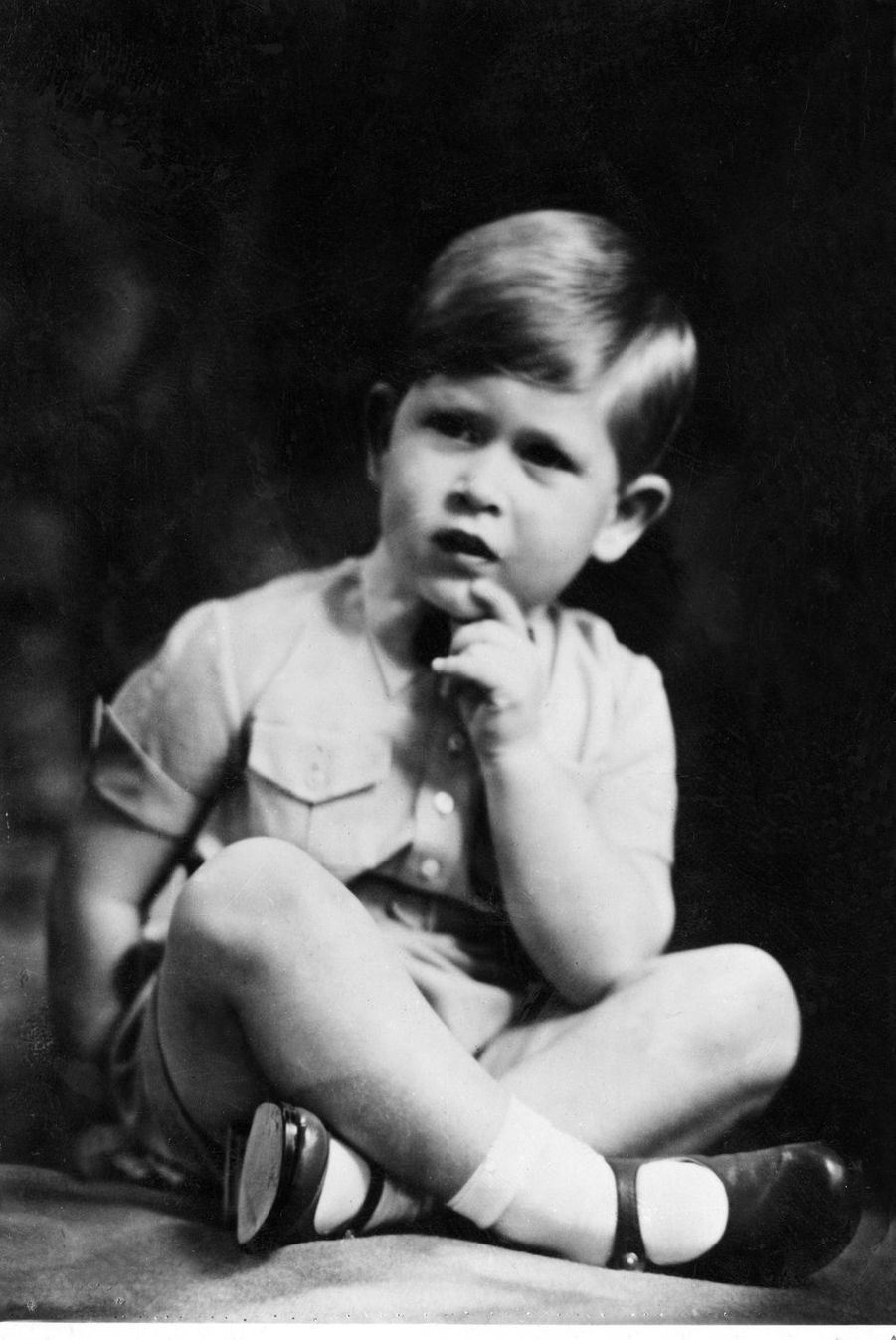 Le prince Charles, vers 1954